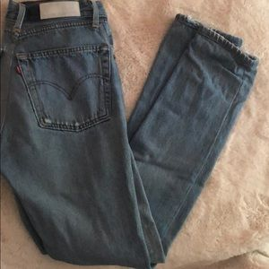Re/done Levi's high rise